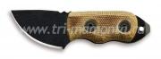 Нож фиксированный Ontario RANGER LITTLE BIRD желто-коричневая рукоятка