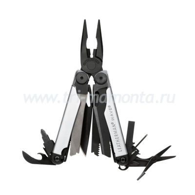 Мультитул Leatherman Wave Серебристо-Черный