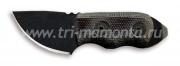 Нож фиксированный Ontario RANGER LITTLE BIRD черная рукоятка